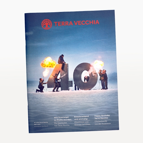 Terra Vecchia 70 years brochure cover
