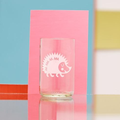 Terra Vecchia Animal Character Glass Boris Igel