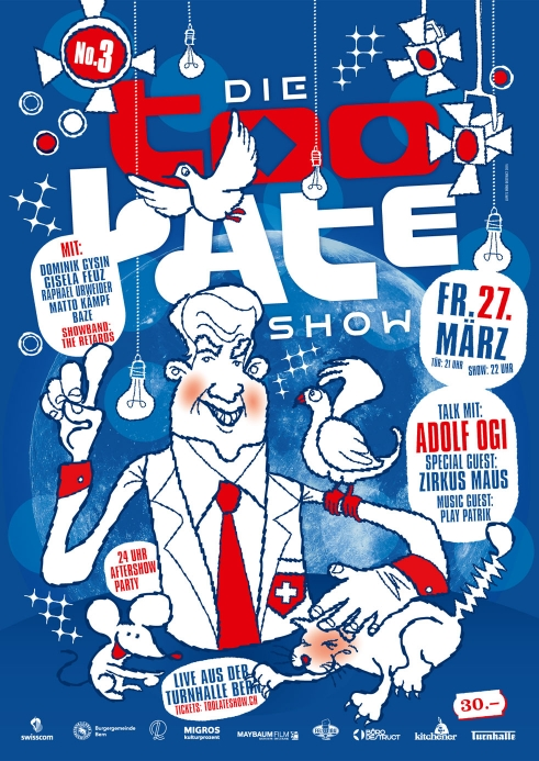 Die Too Late Show 3 poster