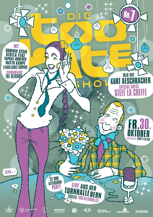 Die Too Late Show 7 poster