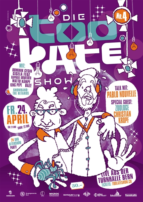 Too Late Show 4 poster