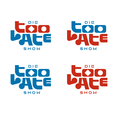Die Too Late Show logotype