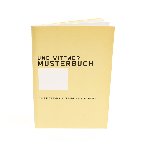 Uwe Wittwer Musterbuch I cover