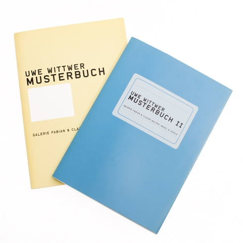 Uwe Wittwer Musterbücher I & II