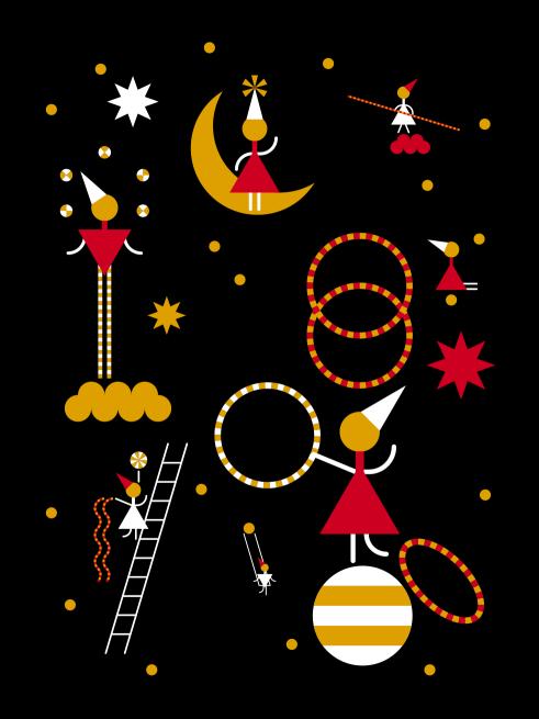 Zirkusschule Bern christmas card