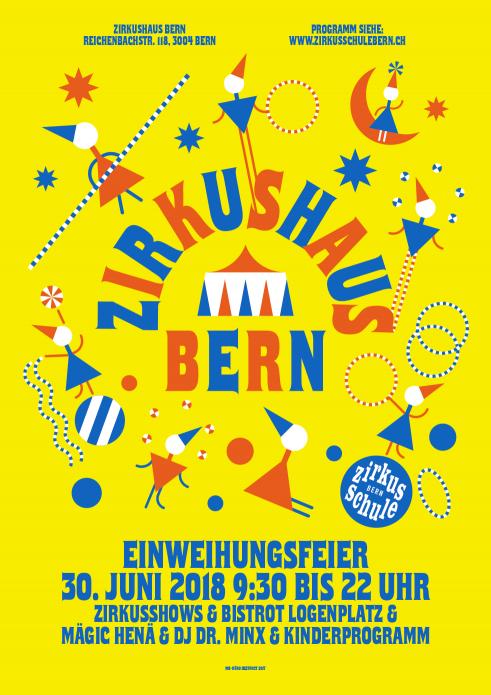 Zirkusschule Bern event poster
