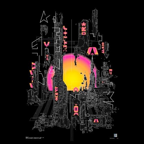BD Stak scifi poster series