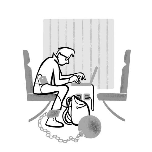 dazwischen book illustration
