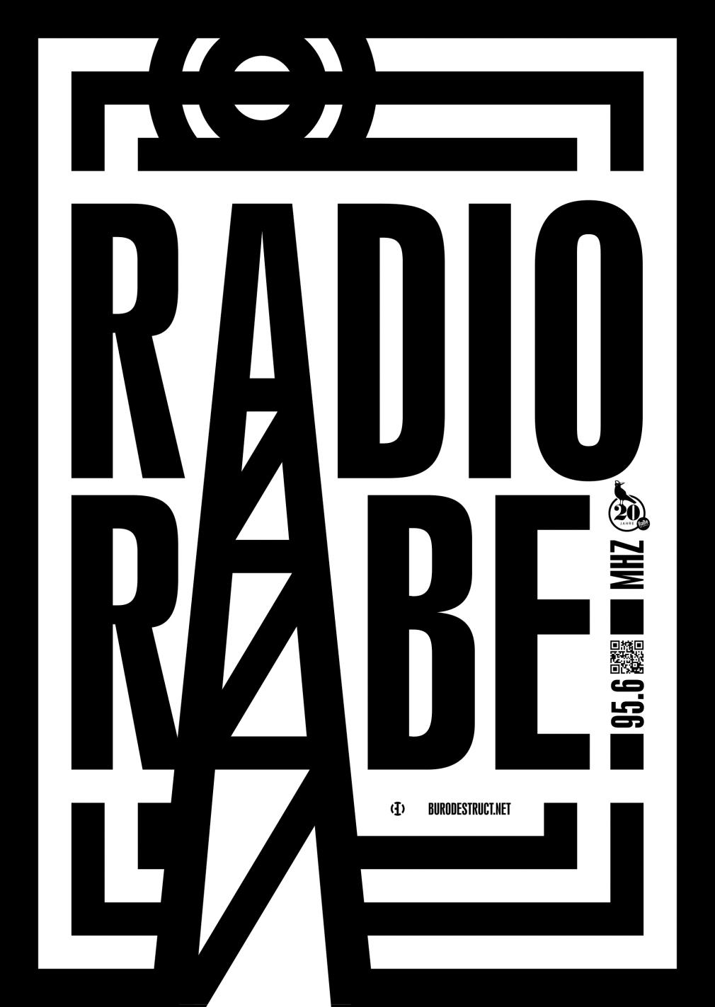 20 Jahre Radio Rabe poster