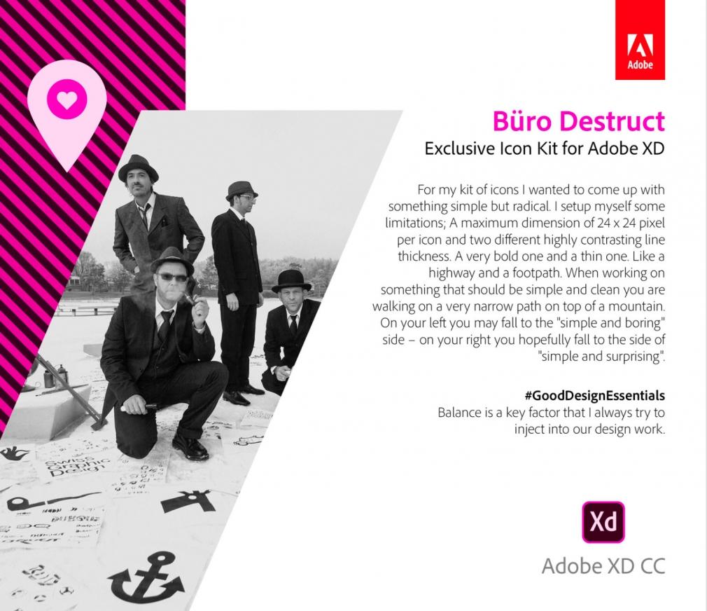 Adobe Xd Icon Kit by Büro Destruct