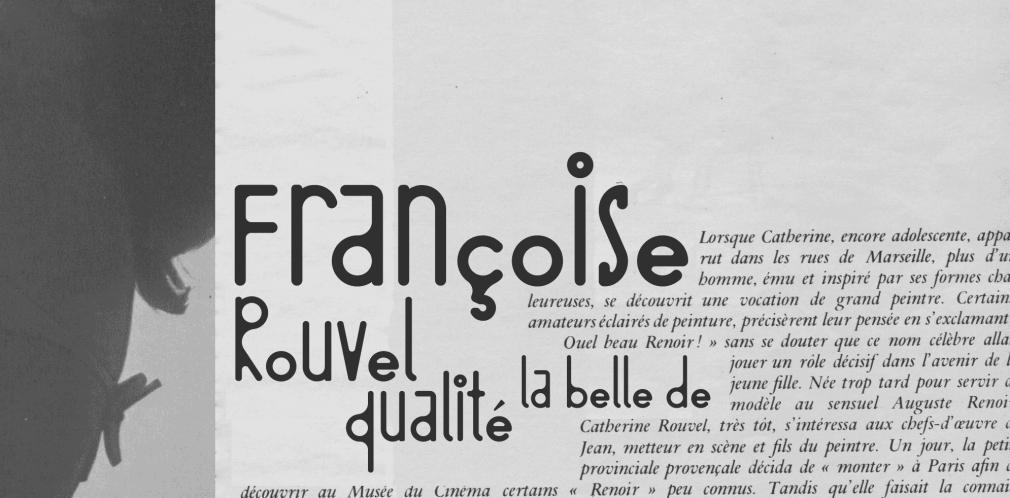 BD Barbeaux Numérique Font