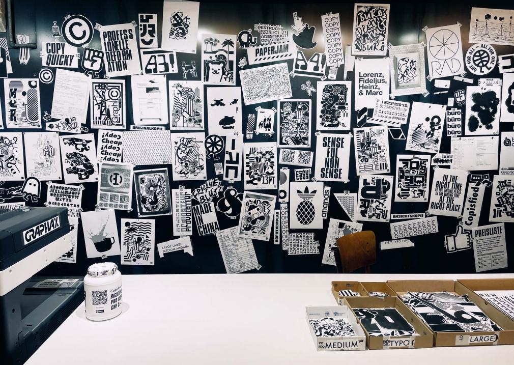 Büro Destruct CopyCulture exhibition Kulturmuseum Bern
