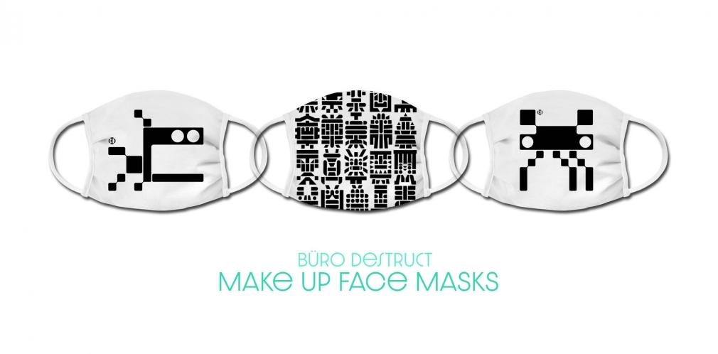Büro Destruct face masks