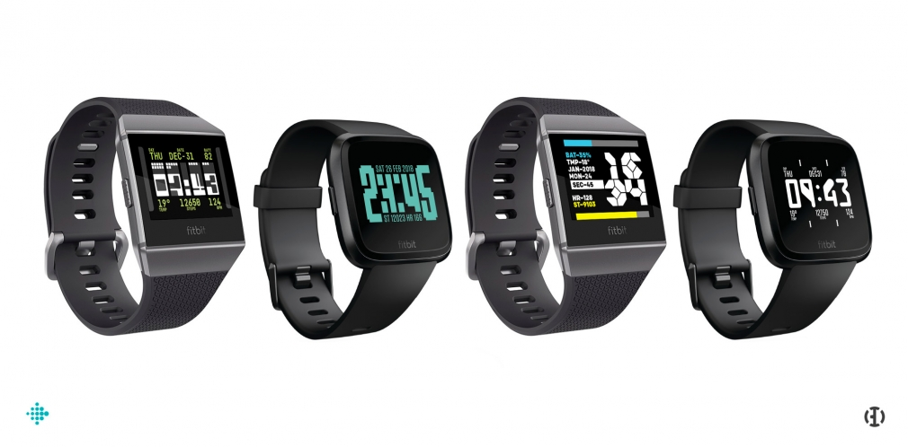 Büro Destruct watchfaces for Fitbit Ionic & Versa