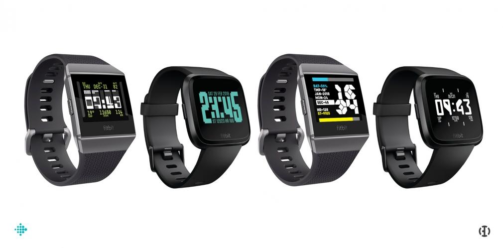 BD Fitbit Ionic & Versa watchfaces