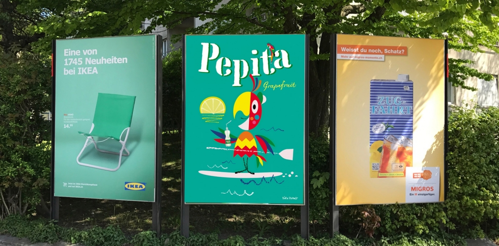 Pepita poster competition submission