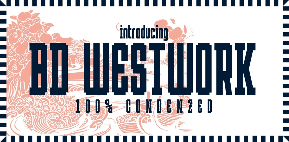 BD Westwork typedifferent font