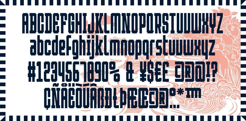BD Westwork typedifferent font
