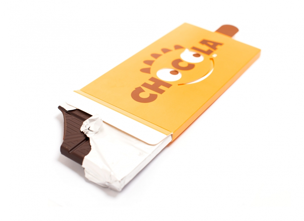 Chocolate package design «Chocola»