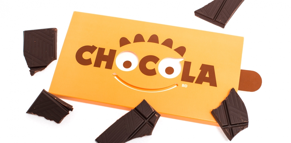 Chocolate package design «Chocola»