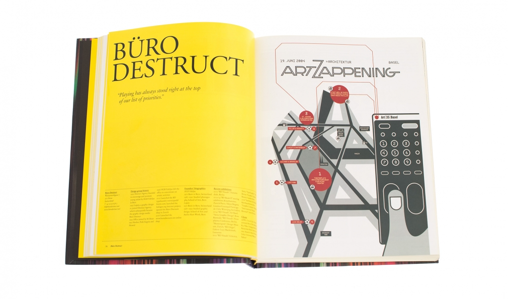 Contemporary Graphic Design book spread