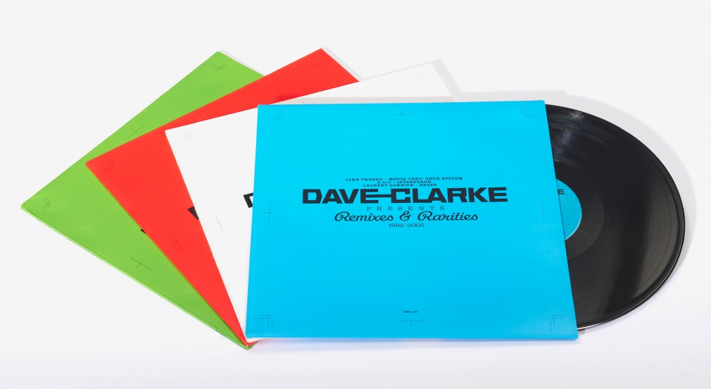 Dave Clark Remixes & Rarities sleeves