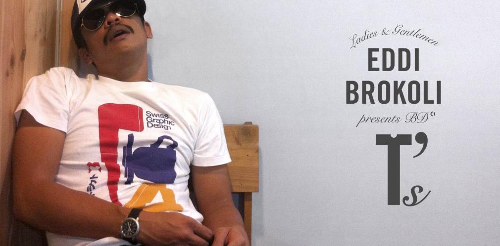 Eddi Brokoli with BD T-Shirts