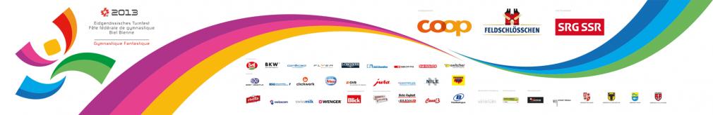 Eidgenössisches Turnfest 2013 banner