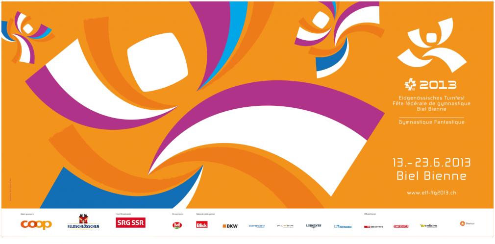 Eidgenössisches Turnfest 2013 f12 poster