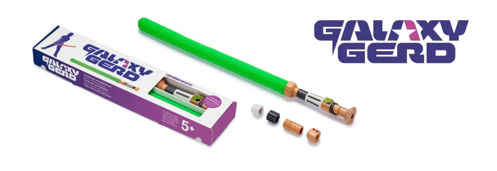Galaxy Gerd Lightsaber wood toy