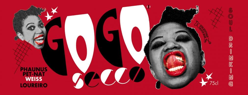 GoGo Secco Prosecco label