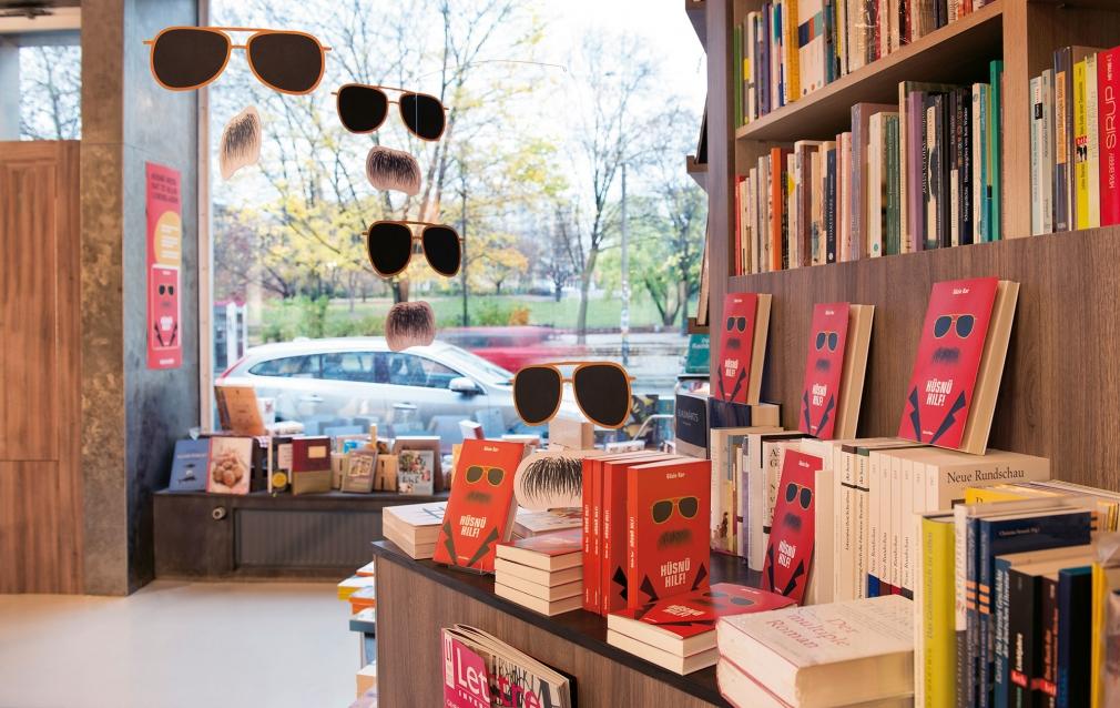 Hüsnü Hilf! Book in Ocelot book store