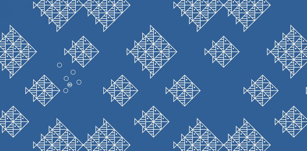 Kitchener fishschool pattern