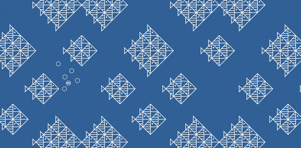 Kitchener fishschool pattern