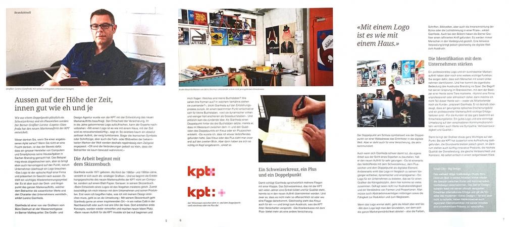 KPT magazin homestory of the rebranding