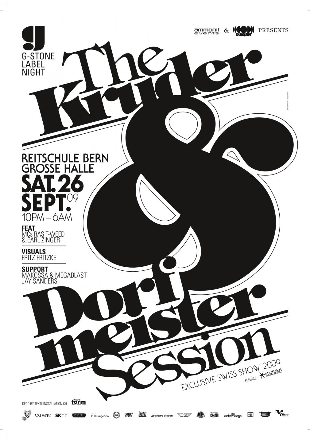 Kruder & Dorfmeister Session poster