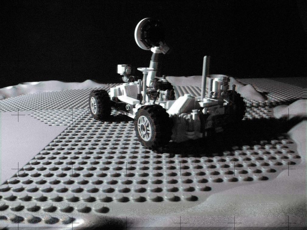 Lego Moon Lunar Rover