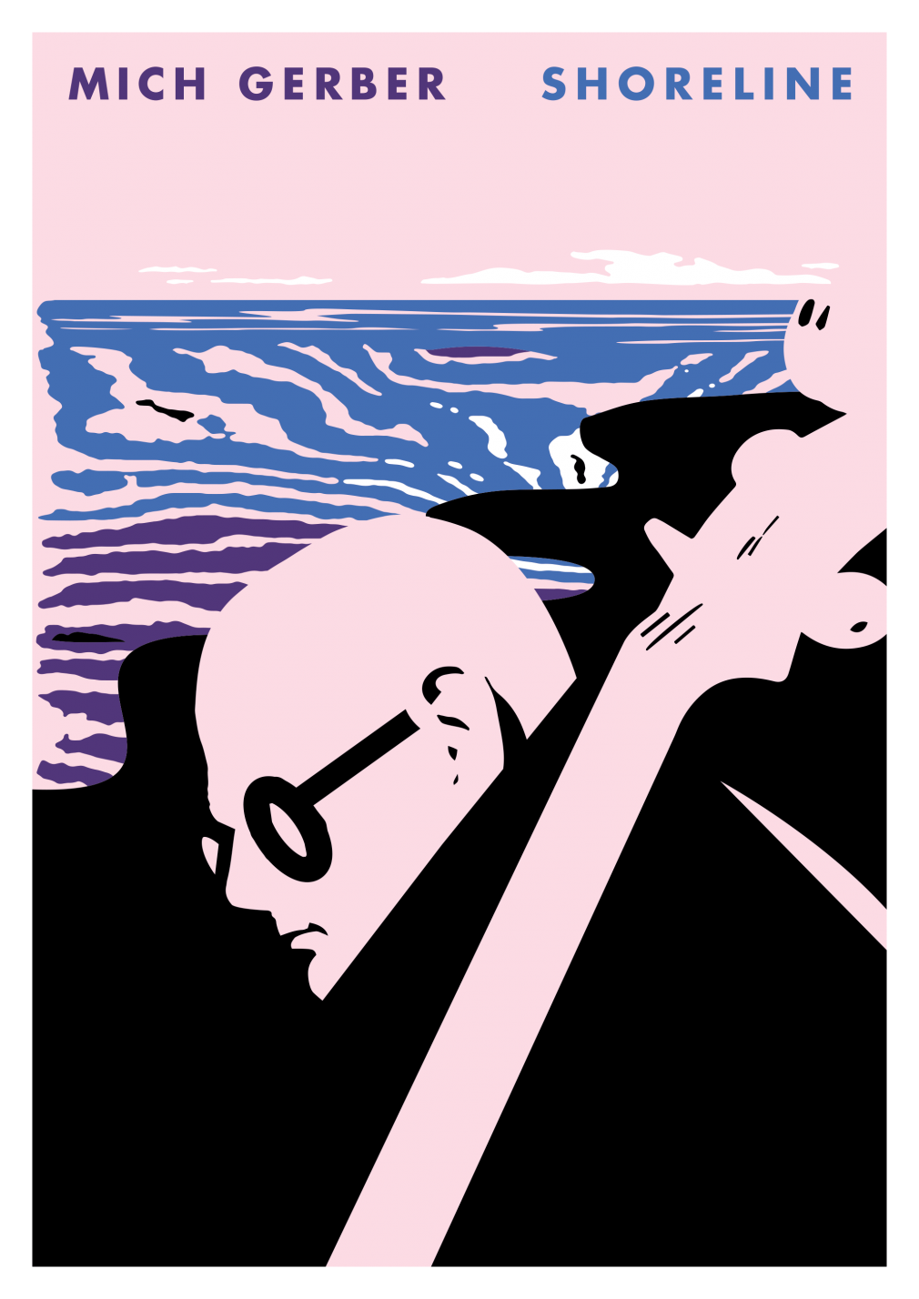 Mich Gerber Shoreline Poster