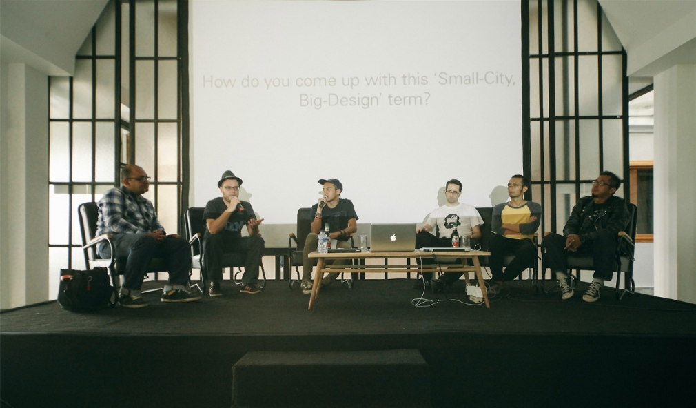 Small City Big Design panel discussion