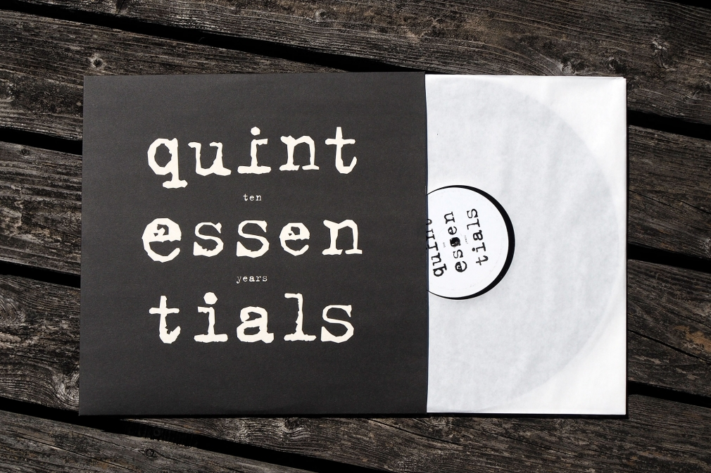 Quintessentials Ten Years vinyl compilation sleeve front