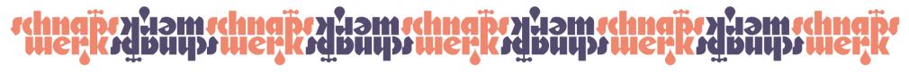 Schnapswerk logotype sticker