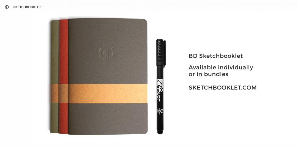 BD Sketchbooklet