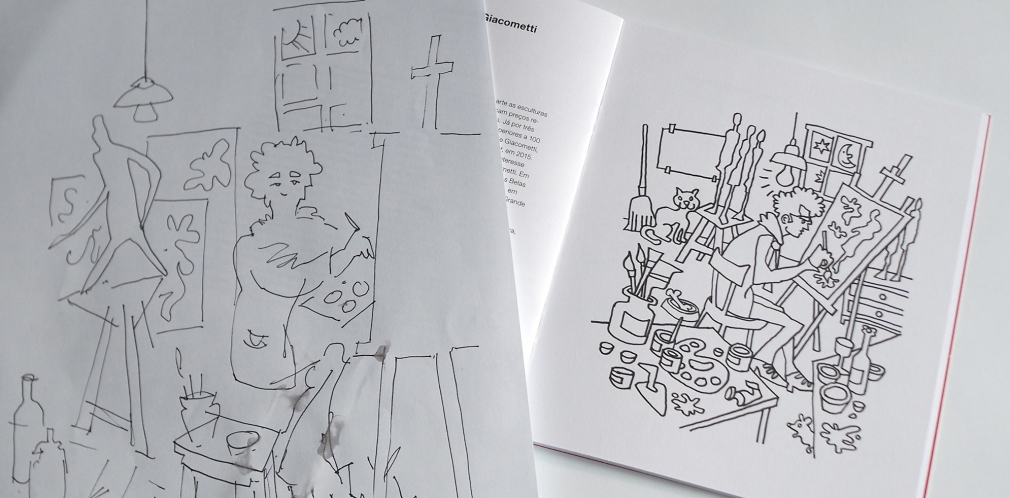 Swiss Coloring Book making of