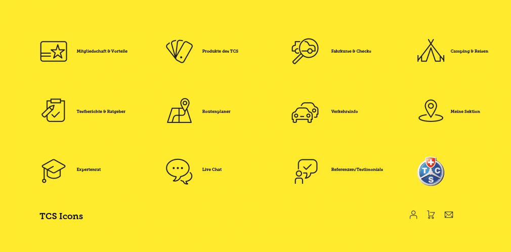TCS icons
