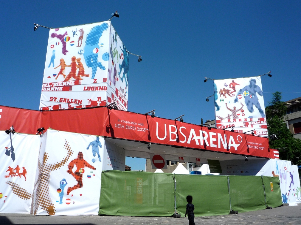 UBS Arena entrance