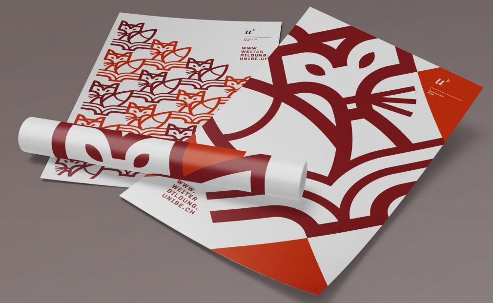 Weiterbildung University of Bern posters