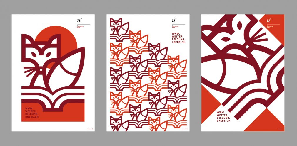 Weiterbildung University of Bern posters